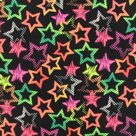 Thick Swimsuit Lycra fabric - Star light - neon x 10cm