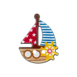 25 mm Boat polyester button C
