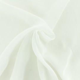 Tissu Viscose comme un nuage - blanc x 10cm