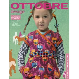 Ottobre Design kids sewing pattern - 4/2013