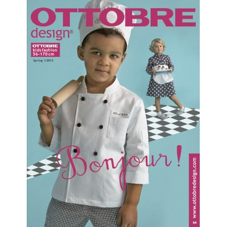 Ottobre Design kids sewing pattern - 1/2013