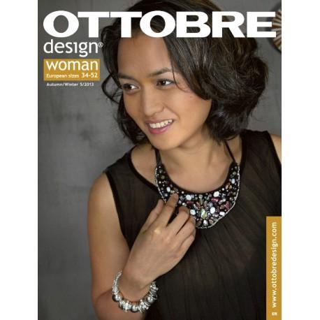 Ottobre Design woman sewing pattern - 5/2013