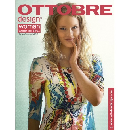 Ottobre Design woman sewing pattern -2/2013