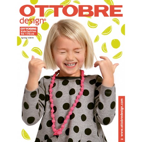 Ottobre Design kids sewing pattern - 1/2014