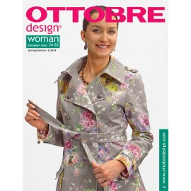 Ottobre Design woman sewing pattern - 5/2013