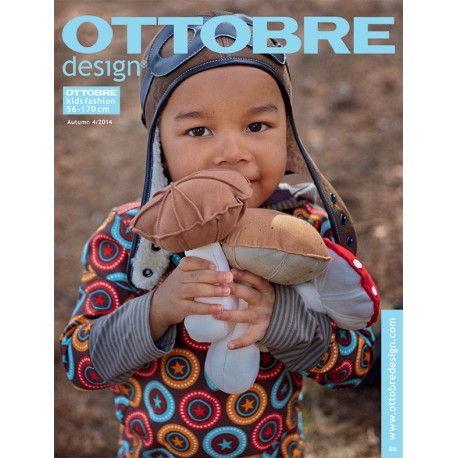 Ottobre Design kids sewing pattern - 4/2014