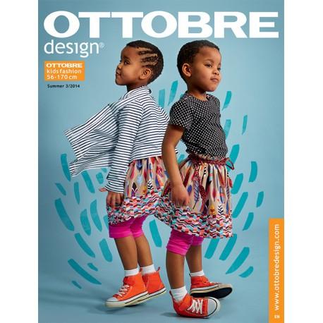 Ottobre Design kids sewing pattern - 3/2014
