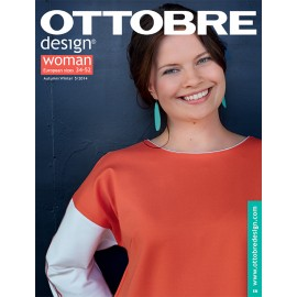 Ottobre Design woman sewing pattern - 5/2014