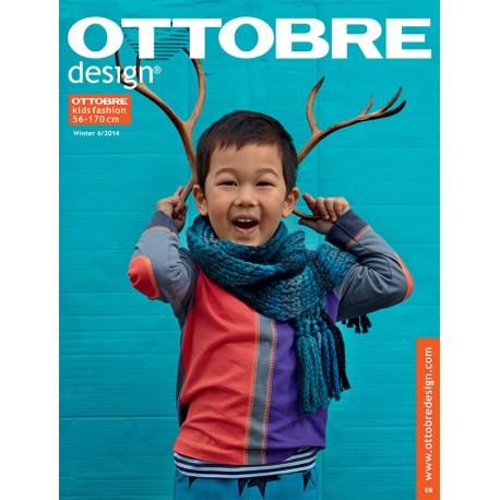 Ottobre Design kids sewing pattern - 6/2014