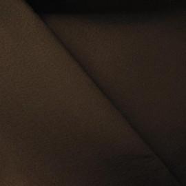 Tissu Feutrine marron x 10cm