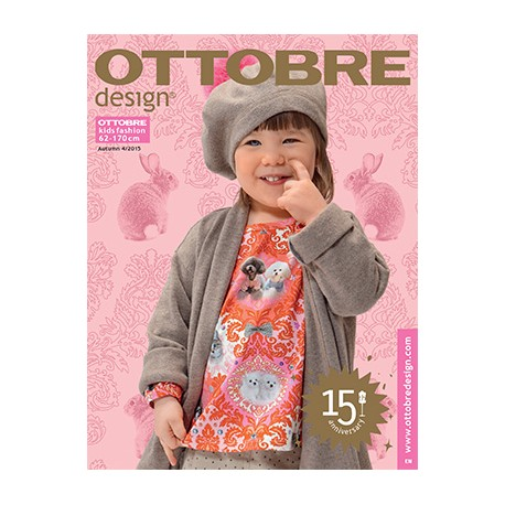Ottobre Design kids sewing pattern - 4/2015