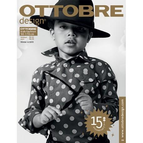 Ottobre Design kids sewing pattern - 6/2015