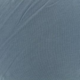 Tissu jersey modal douceur - indigo x 10cm