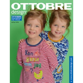 Ottobre Design kids sewing pattern - 1/2016