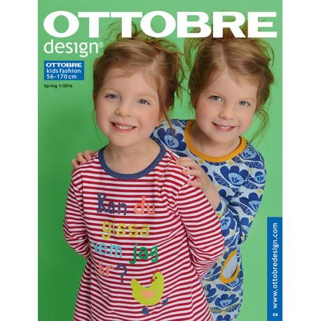 Ottobre Design kids sewing pattern - 1/2016