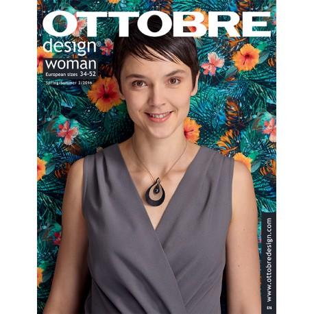 Ottobre Design woman sewing pattern - 2/2016