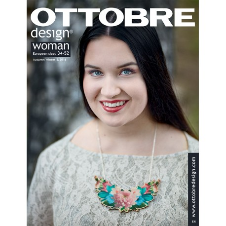 Ottobre Design woman sewing pattern - 5/2016