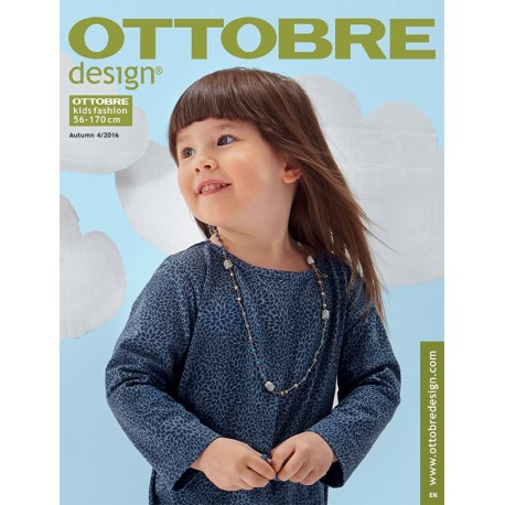 Ottobre Design kids sewing pattern - 4/2016