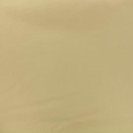 Tissu Bengaline enduit - sable x 10cm