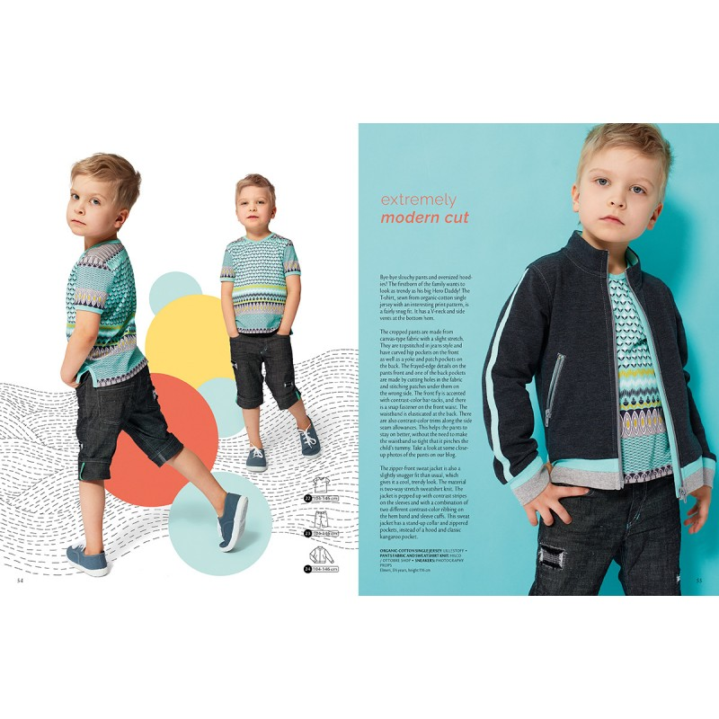 Ottobre Design kids sewing pattern - 1/2017