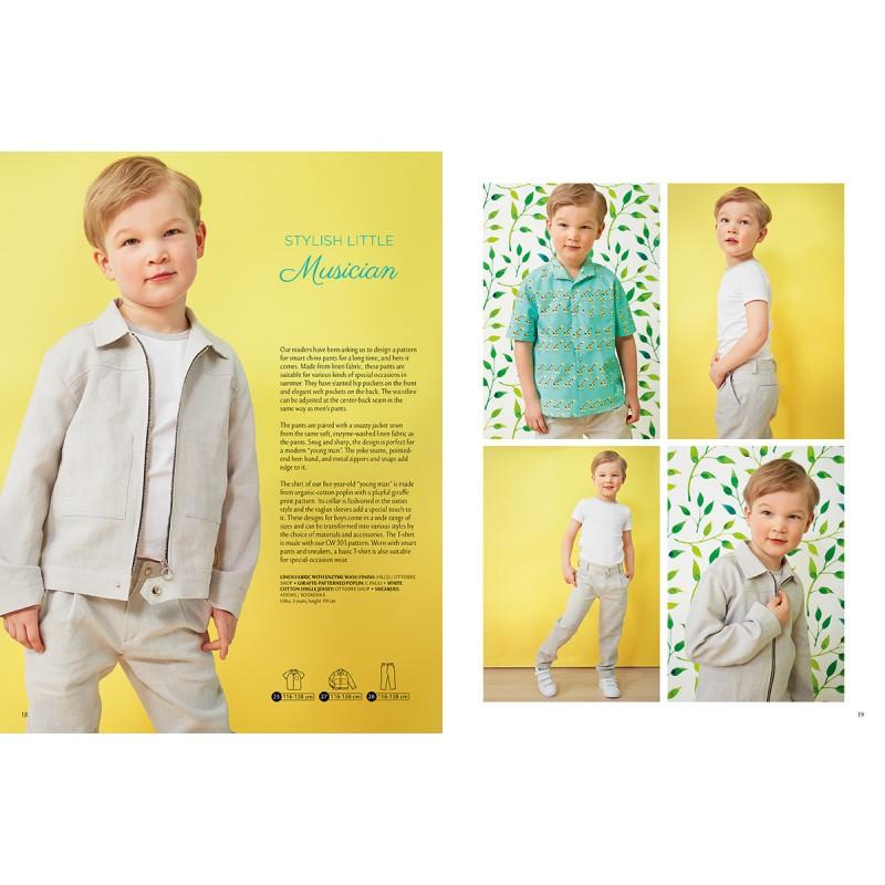 Ottobre Design kids sewing pattern - 1/2017