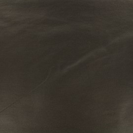 Tissu Bengaline enduit - chocolat noir x 10cm