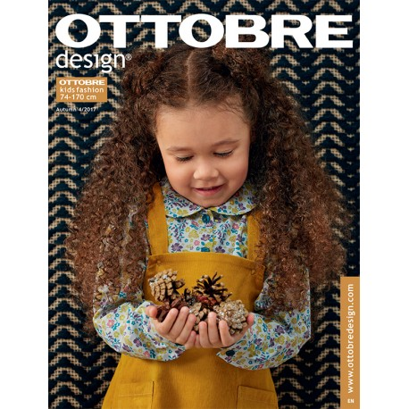 Ottobre Design kids sewing pattern - 4/2017