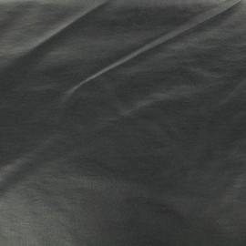 Tissu Bengaline enduit - bleu de minuit x 10cm