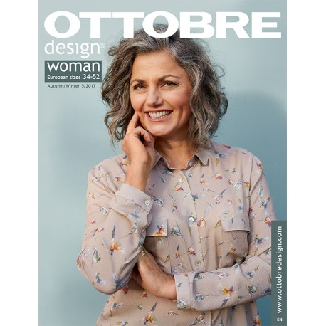 Ottobre Design woman sewing pattern - 5/2017