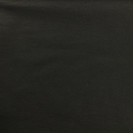 Tissu Bengaline uni - onyx x 10cm