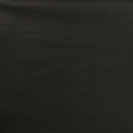 Tissus Bengaline unie - onyx x 10cm