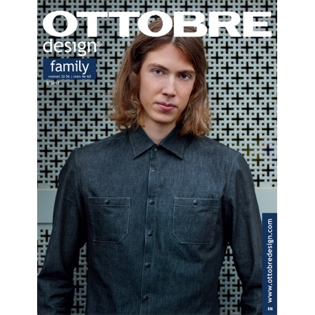 Ottobre Design family sewing pattern - 7/2017