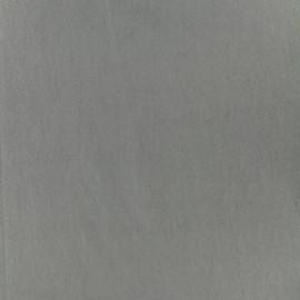 Tissu Bengaline uni - pigeon x 10cm