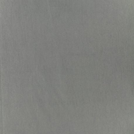 Plain Bengaline fabric - pigeon x 10cm
