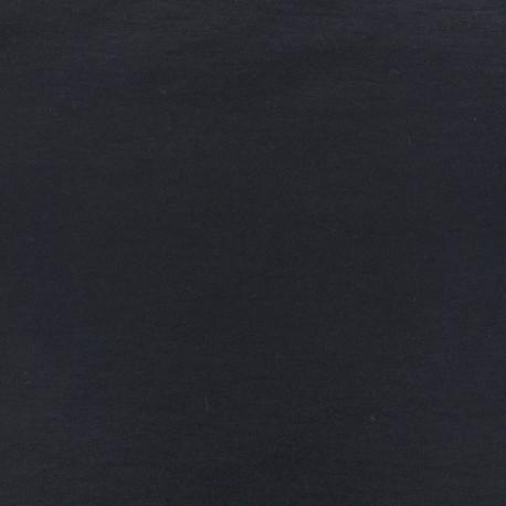 Tissus Bengaline unie - bleu de minuit x 10cm