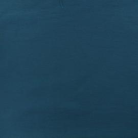 Plain Bengaline fabric - blue duck x 10cm