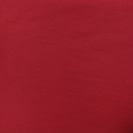 Plain Bengaline fabric - ruby x 10cm