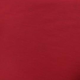 Tissu Bengaline uni - rubis x 10cm