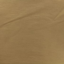 Plain Bengaline fabric - camel x 10cm