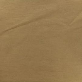 Tissu Bengaline uni - camel x 10cm