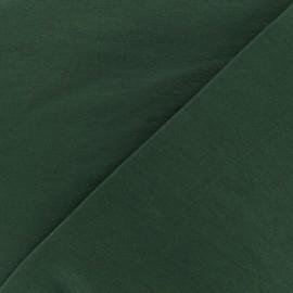 Tissu Bengaline uni - forêt x 10cm