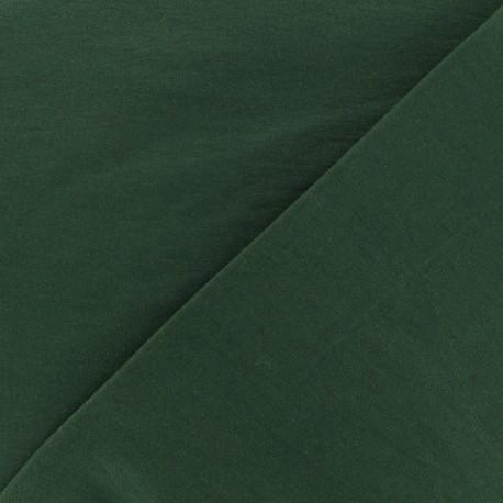 Plain Bengaline fabric - forest x 10cm