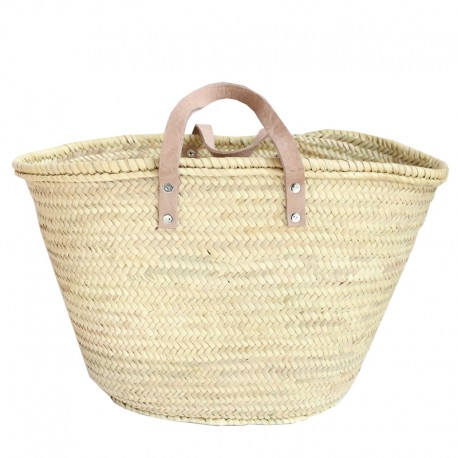French shopping bag make up - oval shape