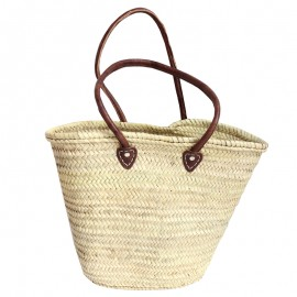 French shopping bag make up - oval shape