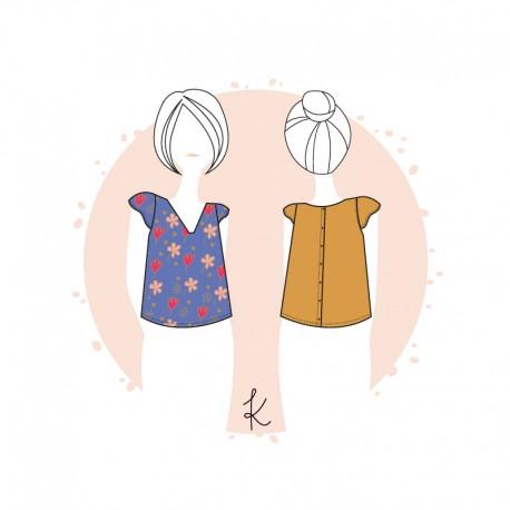 Anne Kerdilès Sewing pattern Blouse - Syracuse