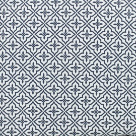 Jacquard fabric Portugal - blue x 10cm