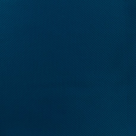 Waffle stitch cotton fabric - Plain - Royal blue x 10cm