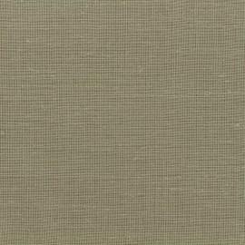 Tissu voilage poly lin Art Lino spécial rideaux - beige x 10cm