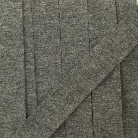 Biais jersey coton uni 20 mm - roche x 1m