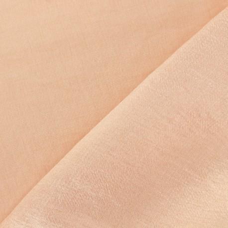 Tissu viscose irisée La Maison Victor - rose poudré x 10cm